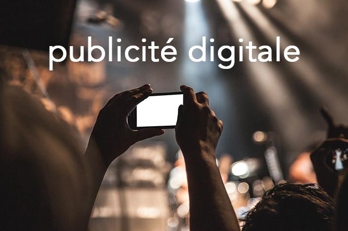 Publicité digitale sur smartphone