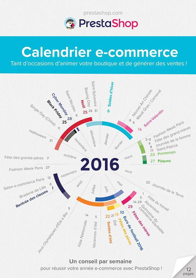 Calendrier e-commerce PrestaShop