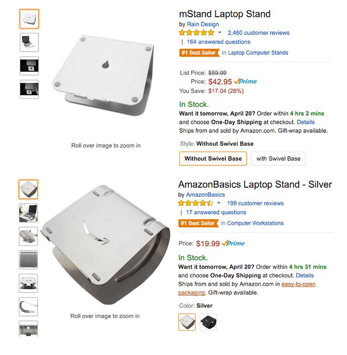 Amazon en concurrence avec les e-commerçants?