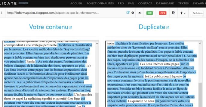 Killduplicate Comment repérer efficacement le duplicate contentet le contrer?