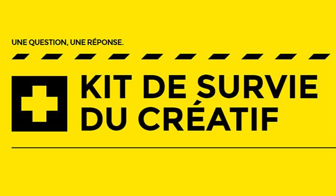 Kit de survie du créatif, concret et pratique
