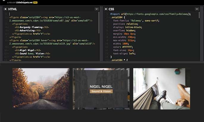 Site web Little Snippets